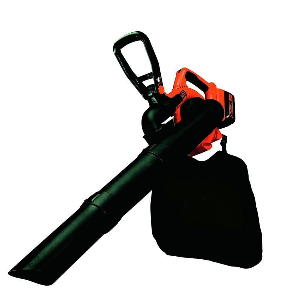 Black & Decker - Soplador-aspirador- triturador 36V