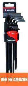 Bellota 6457-9 P - Pack de 9 llaves Allen