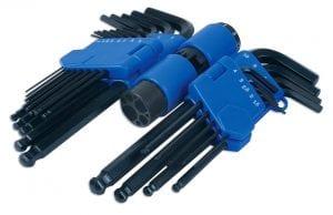 Laser 3383 - Juego de llaves allen