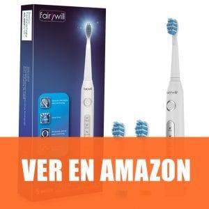 fairywill - Cepillo de dientes eléctrico recargable
