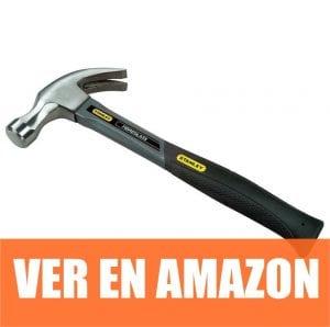 Stanley 1-51-529 - Martillo de carpintero de fibra vidrio