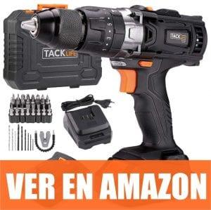 Tacklife PCD04B - Taladro Atornillador 18V