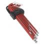 Sealey Anti-Slip XL - Juego de llaves allen métricas